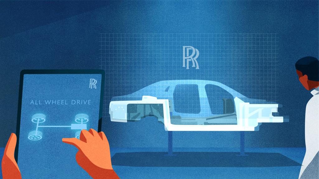 New Rolls-Royce Ghost to introduce new drivetrain capabilities