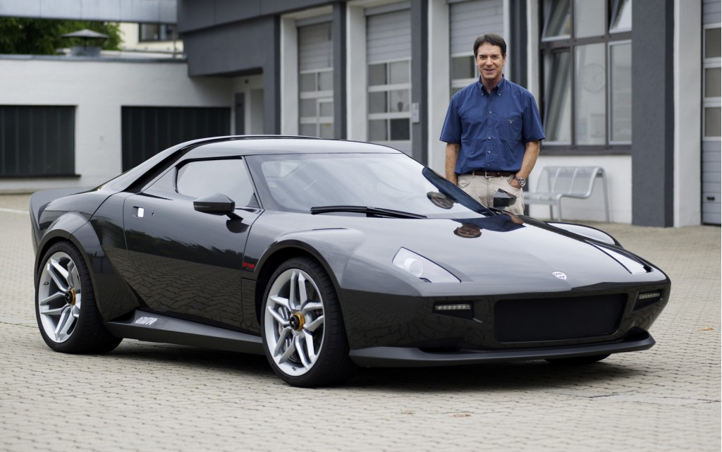 Michael Stoschek with the New Stratos