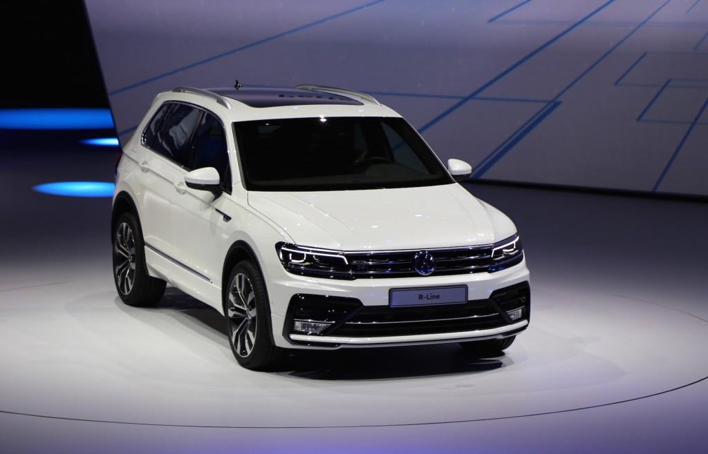 Image New Volkswagen Tiguan European Spec 2015