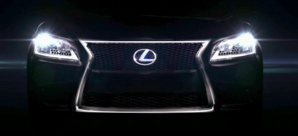 Next-gen Lexus LS teased in official video?