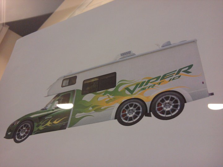 Dodge Viper Motorhome Revealed Via DriveSRT Facebook Fan Page