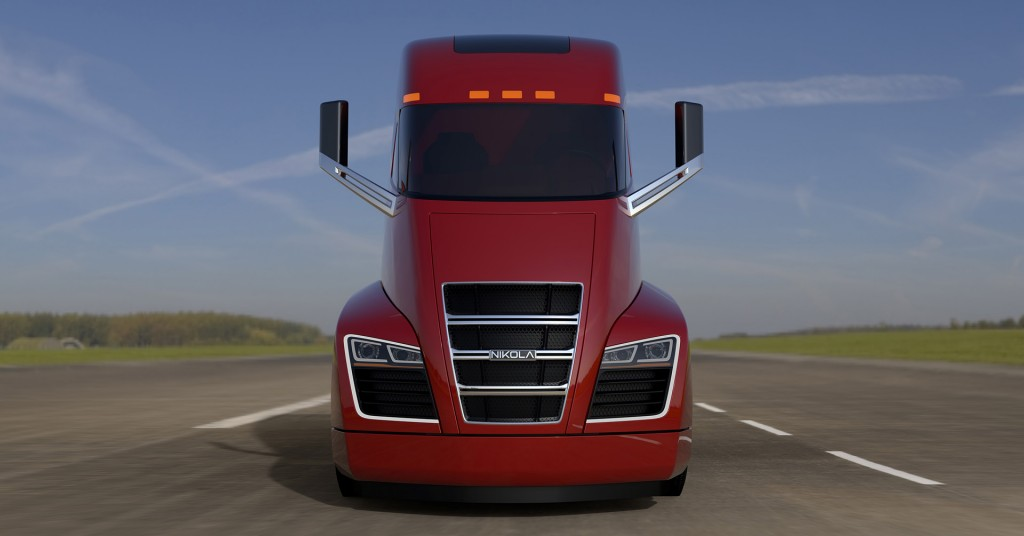 Image Nikola One Electric Semi Truck Size 1024 X 536