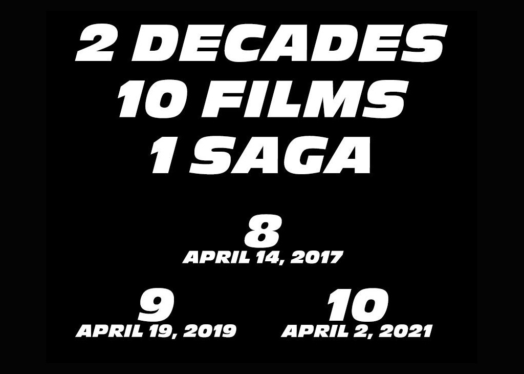 Ninth and tenth Fast and the Furious movies confirmed