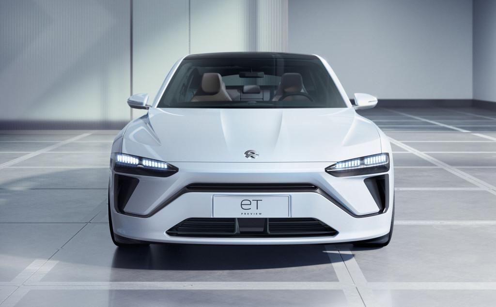 Nio unveils ET Preview electric sedan in Shanghai