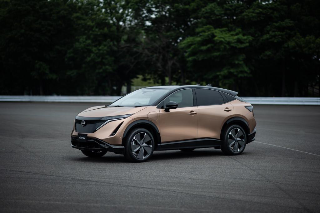 2022 Nissan Ariya electric crossover undercuts Tesla Model Y