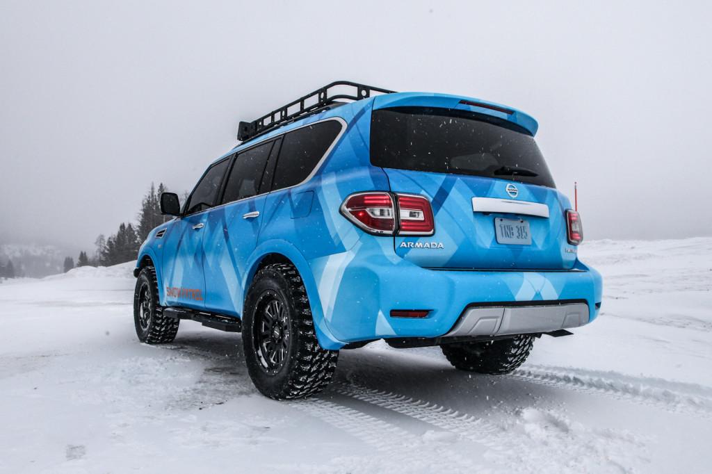 Nissan Armada Snow Patrol ready to tackle any frozen tundra