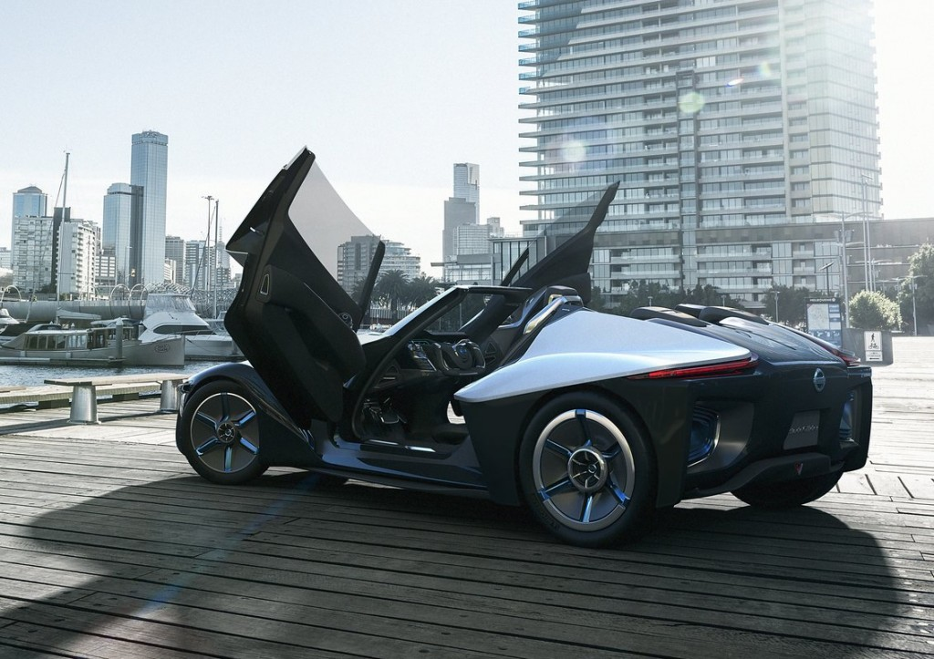 Nice Nissan BladeGlider Electric Sports Car Concept   2013 Tokyo Motor Show