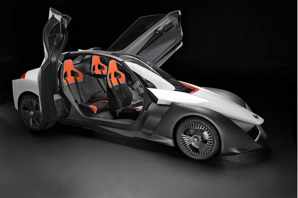 Olympics VIPs Get Rides In Nissan BladeGlider Electric Sports Car - Get in sports car