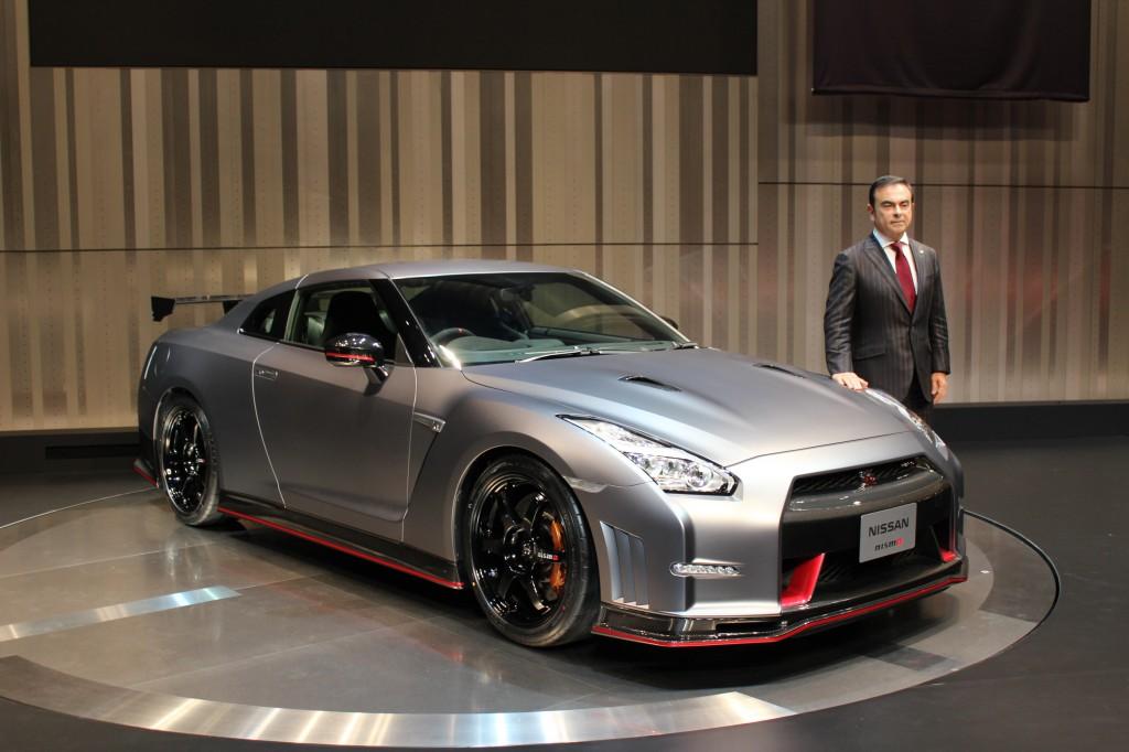 2015 Nissan GTR NISMO 2013 Tokyo Motor Show Live Photos