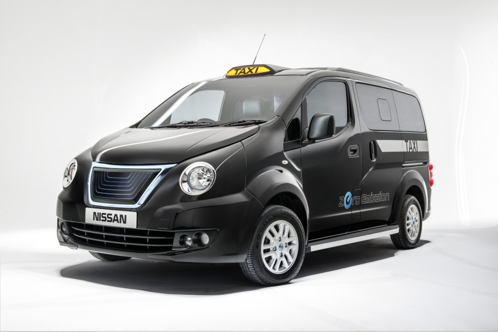 Nissan e-NV200 Taxi for London