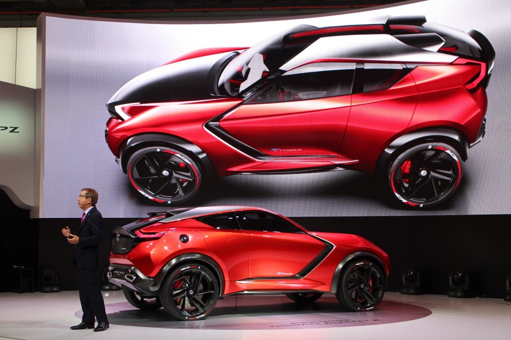 Image: Nissan Gripz concept, 2015 Frankfurt Auto Show ...