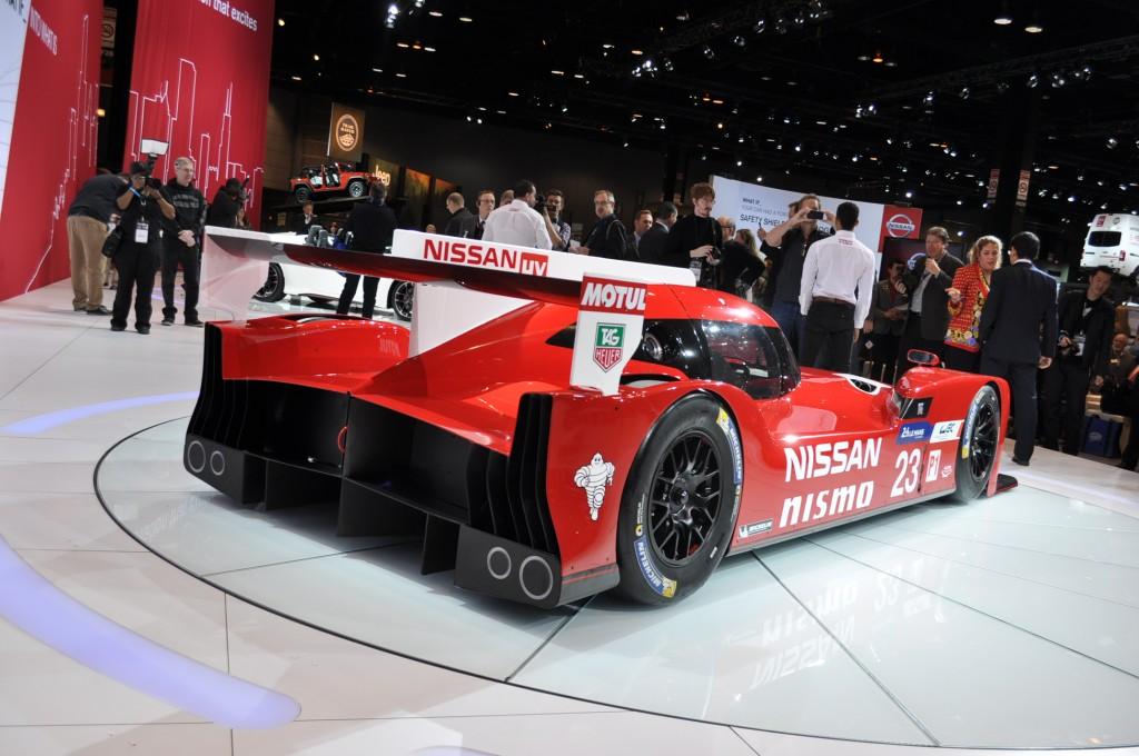 Nissan GT-R LM NISMO, 2015 Chicago Auto Show