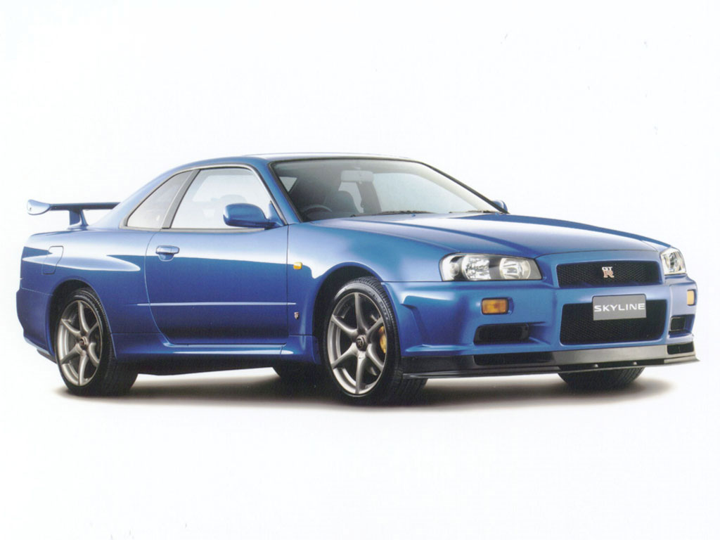 There's an R34 Nissan Skyline GT-R you can rent in Las Vegas