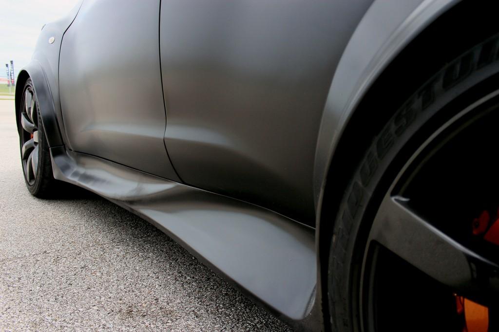 Nissan JUKE-R track drive, first U.S. appearance, Nashville Superspeedway