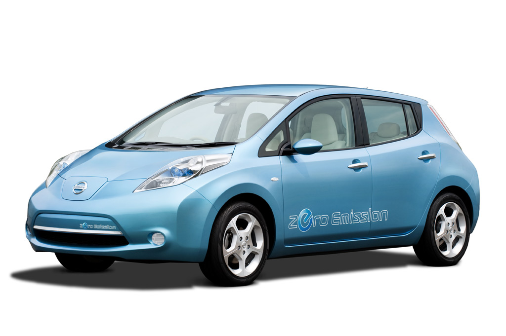 Nissan Unveils All-New LEAF Electric Vehicle