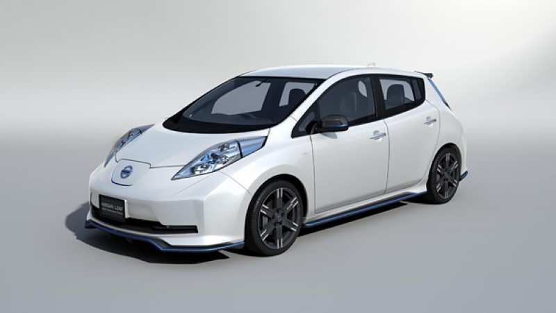 Nismo Offers To 'Chip' Your Leaf Electric Car For Better