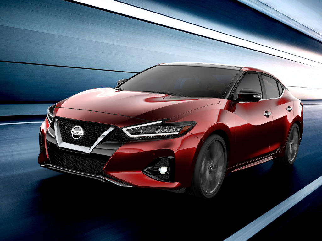 Here's Your First Look at the Facelifted 2019 Nissan Maxima