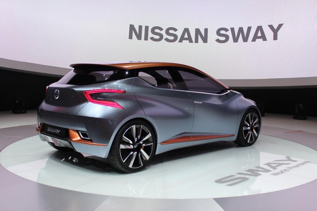 Nissan Sway Concept 2017 Geneva Motor Show Live Photos