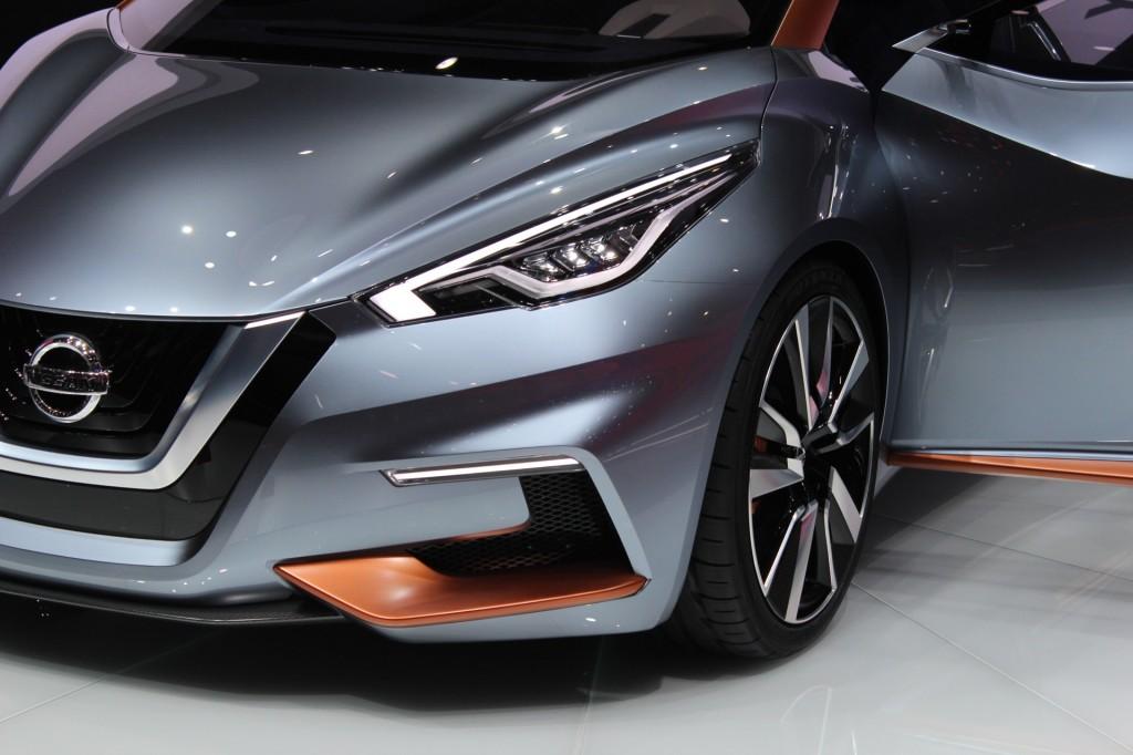 Nissan Sway Concept  -  2015 Geneva Motor Show live photos