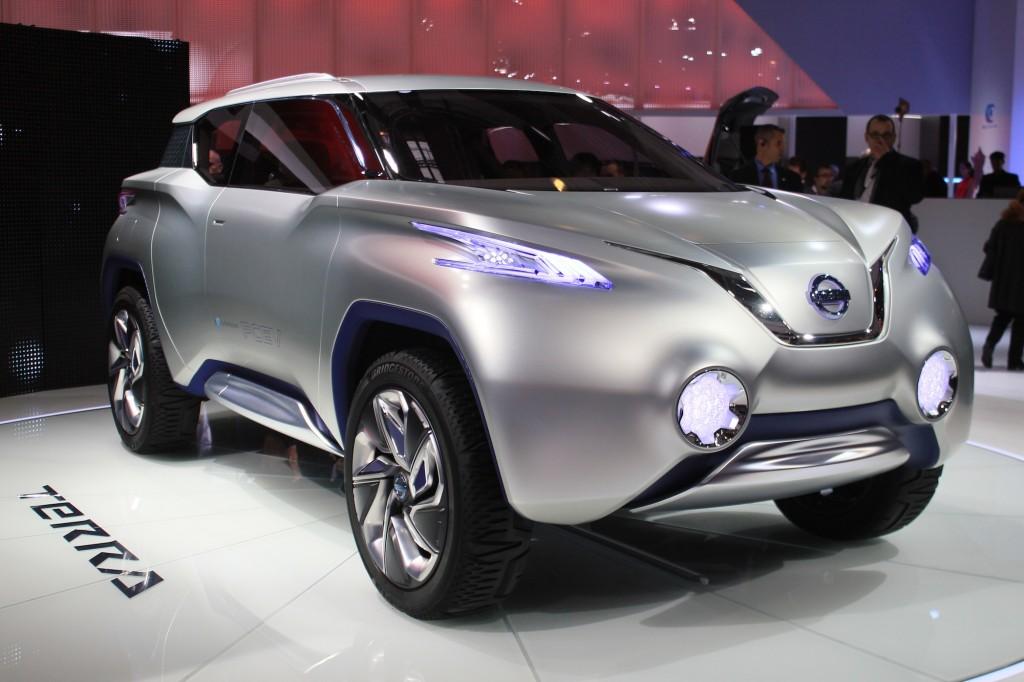 Nissan Terra Concept Live Photos And Video 2012 Paris Auto Show