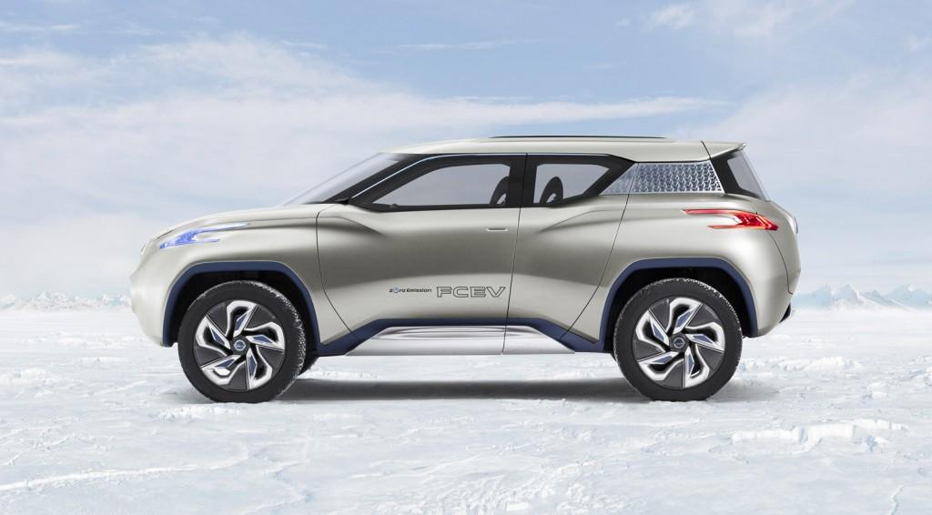 Nissan Terra Concept Preview 2012 Paris Auto Show