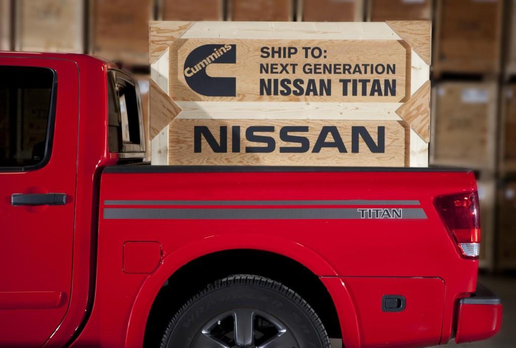 Nissan Titan pickup to get Cummins turbo diesel engine