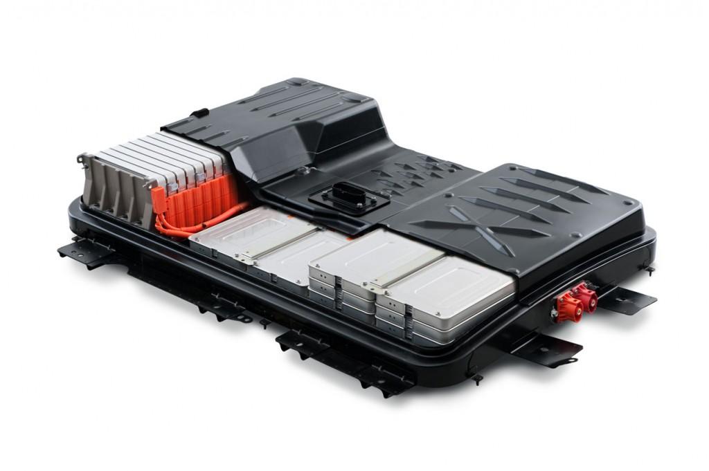2011 Nissan Leaf - battery pack cutaway