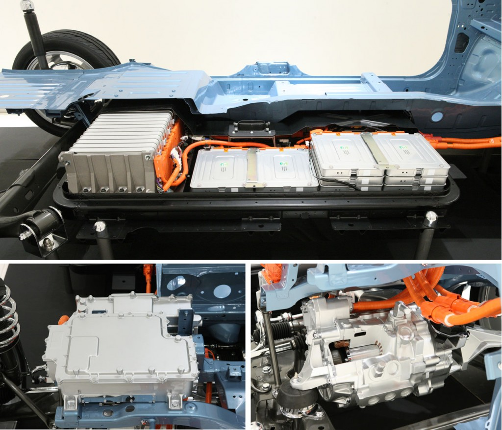 Image: 2011 Nissan Leaf - battery pack, size: 1024 x 878 ...