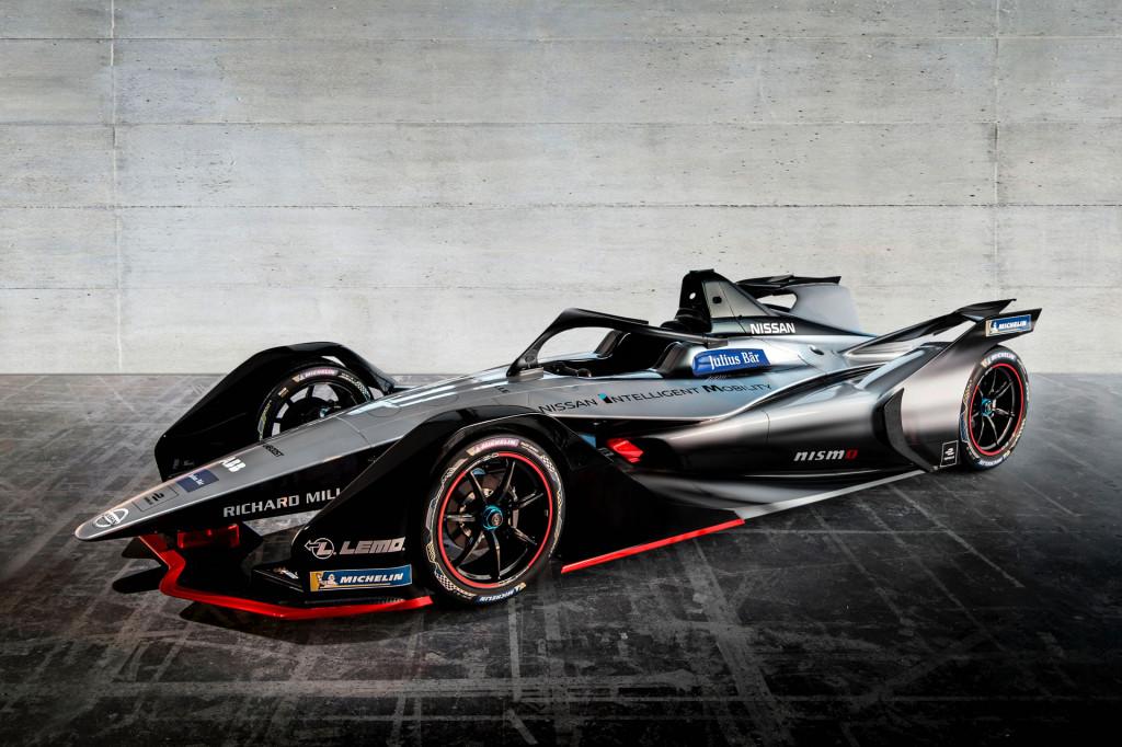 Nissan Formula E car gets Nismo-ized livery for inaugural season