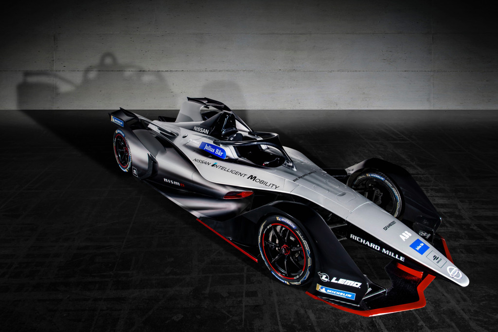 Nissan Formula E car gets Nismo-ized livery for inaugural season