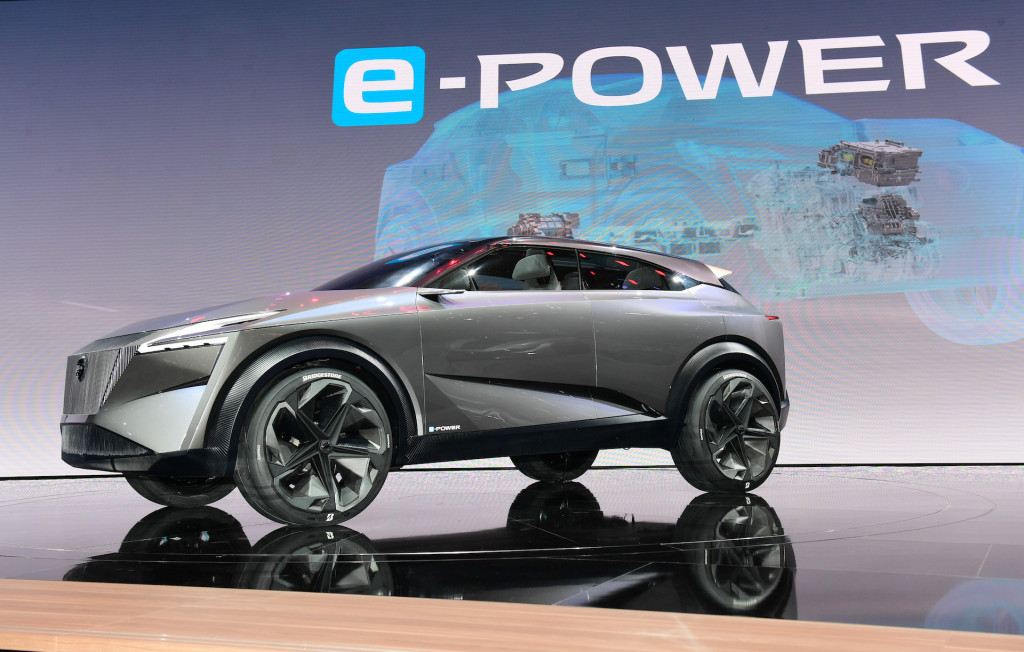 Nissan Imq Concept Previews A Compact Electric Suv