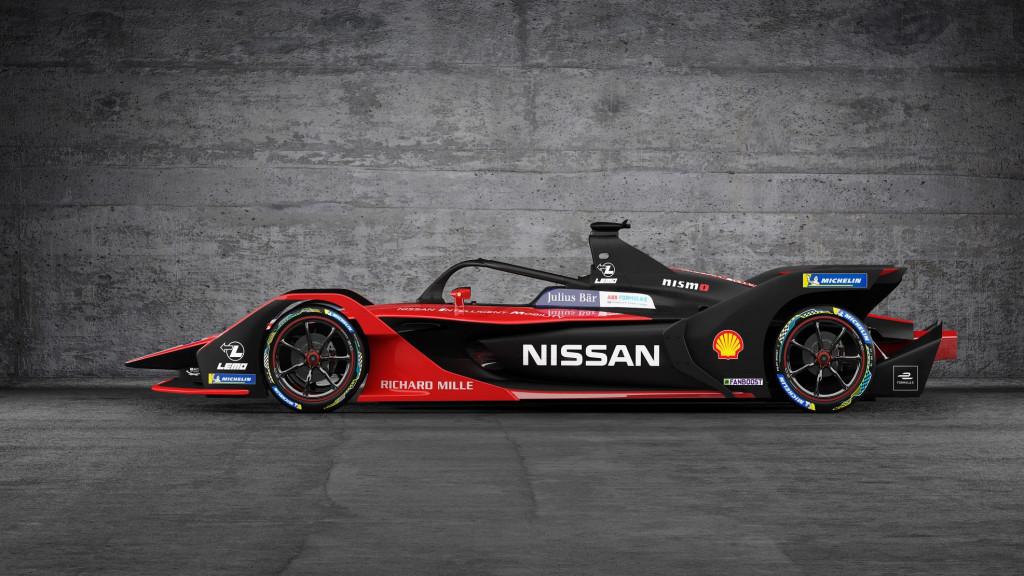 Nissan debuts 2019/2020 Formula E car with Kimono-inspired livery