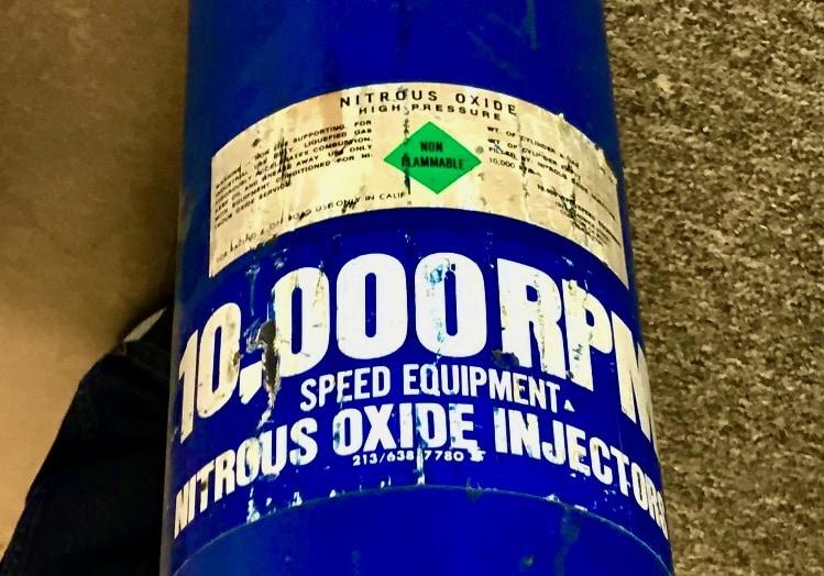Nitrous Oxide Bottle