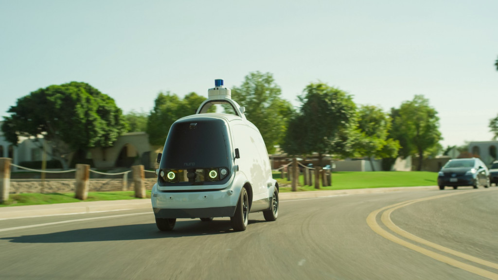 Nuro and Domino's partner for self-driving pizza delivery