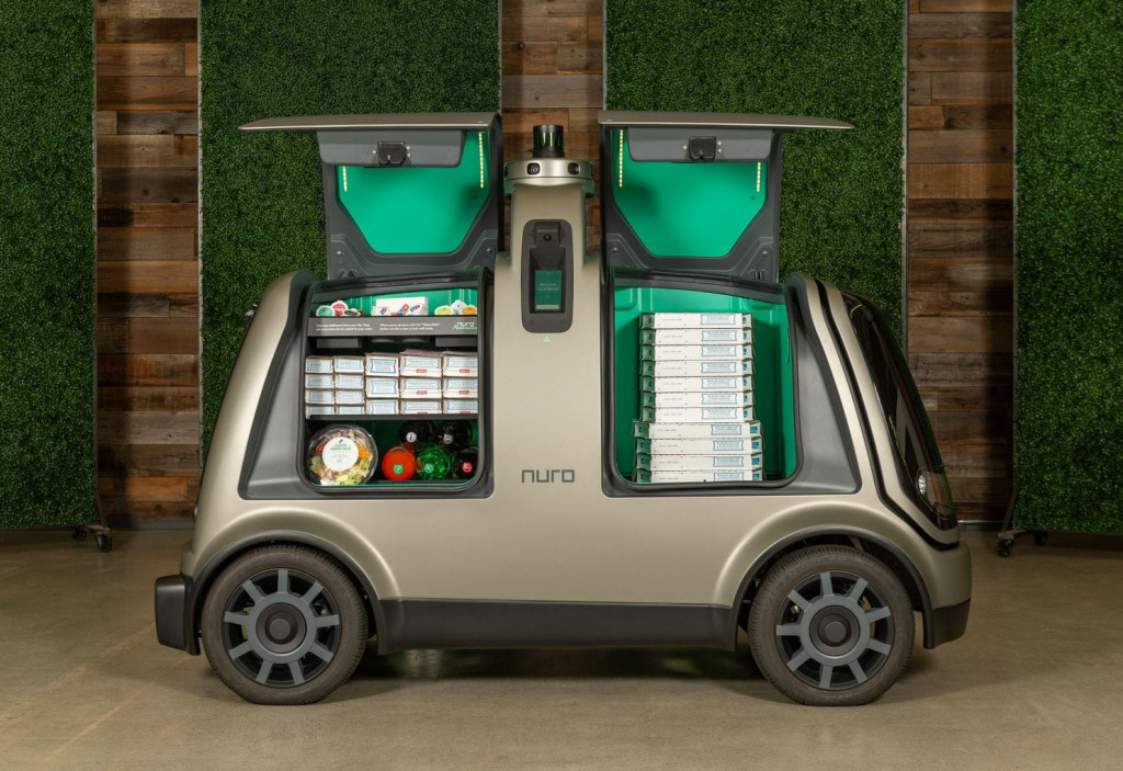 Meals on self-driving wheels: Nuro and Domino's partner for autonomous pizza delivery