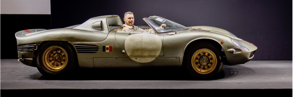 Of two Serenissima Spyders, only this one survives, and it's the one that raced at Le Mans
