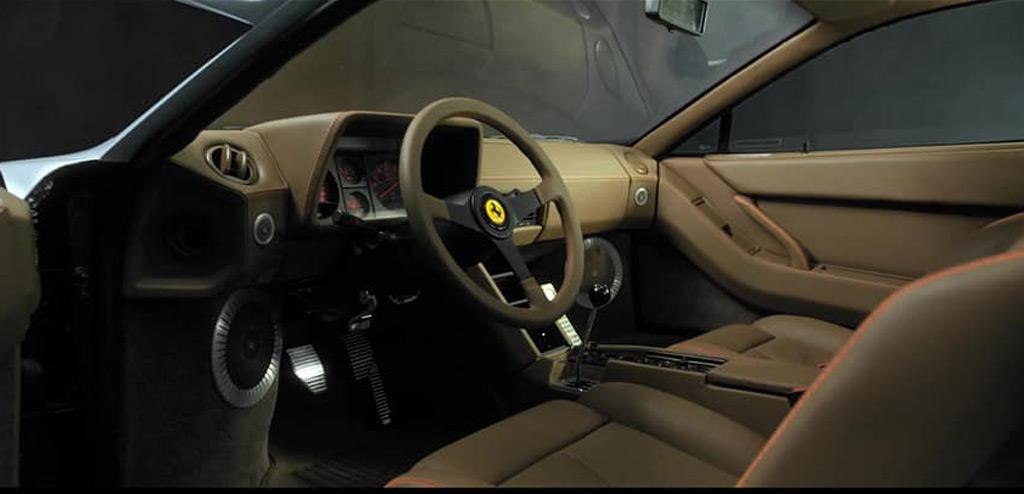 Officine Fioravanti Ferrari Testarossa restomod