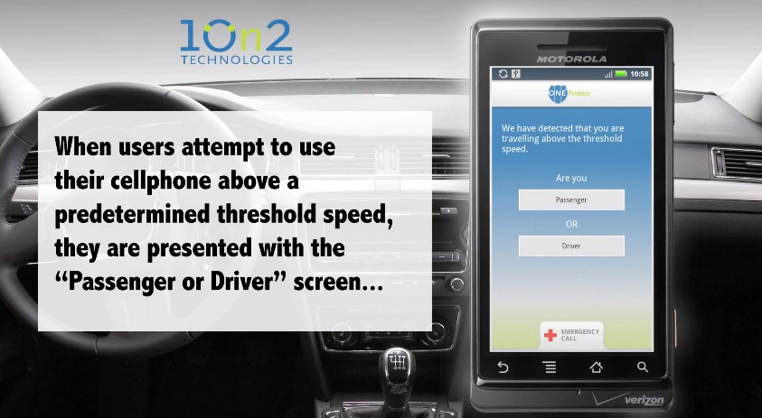 OneProtect distracted driving app