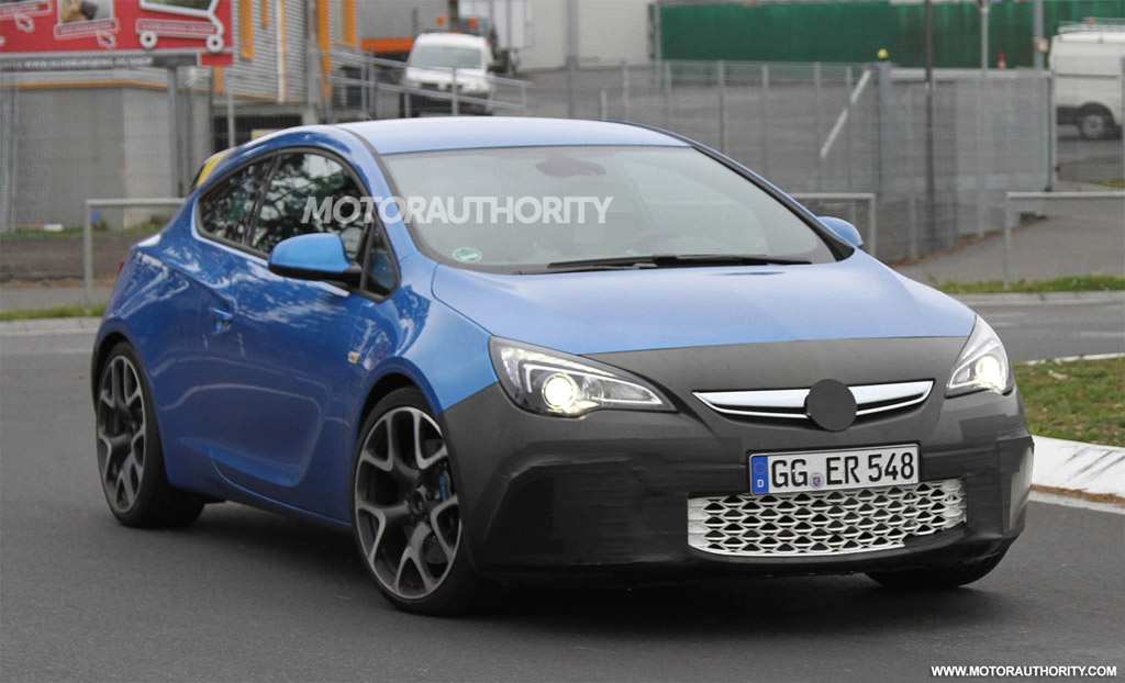 opel astra opc spy shots. Black Bedroom Furniture Sets. Home Design Ideas