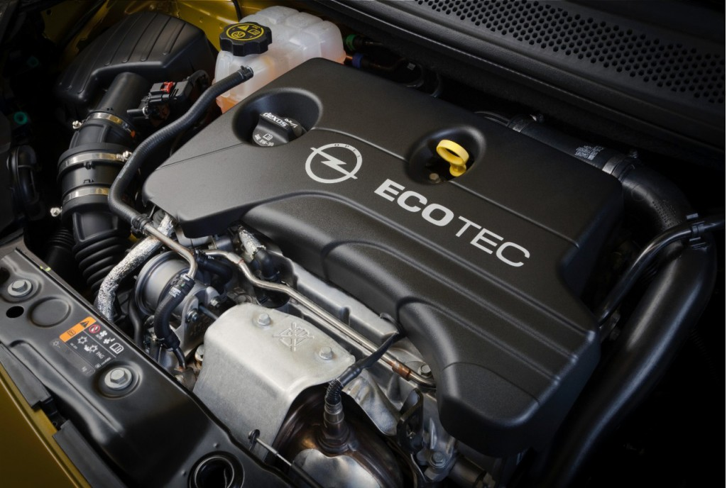Opel's new 1.0-liter 3-cylinder gasoline engine