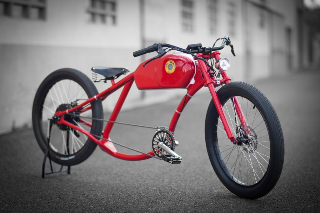 Otocycles' retro electric bicycle