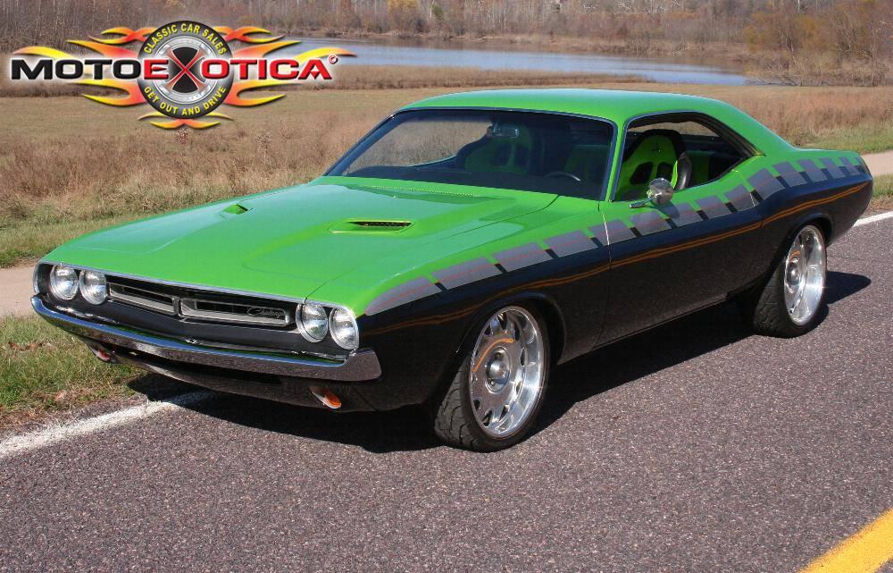 Ebay: 1971 Dodge Challenger built on \'Overhaulin\' by Chip Foose
