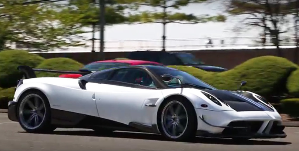 Pagani Huayra BC lands in U.S., sounds mean