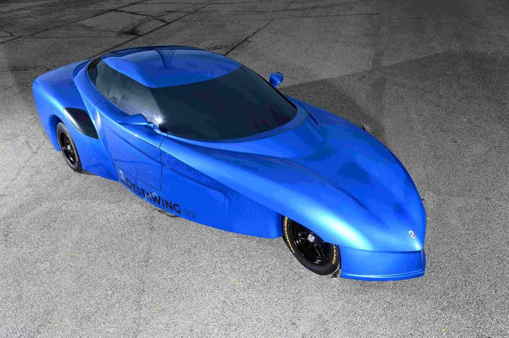 DeltaWing GT road car concept, 2015 Petit Le Mans