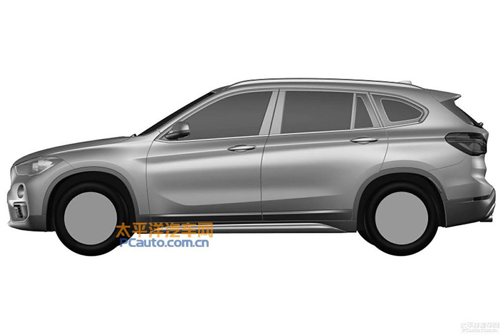 2016 Bmw X1 Long Wheelbase Model Revealed In Patent Drawings