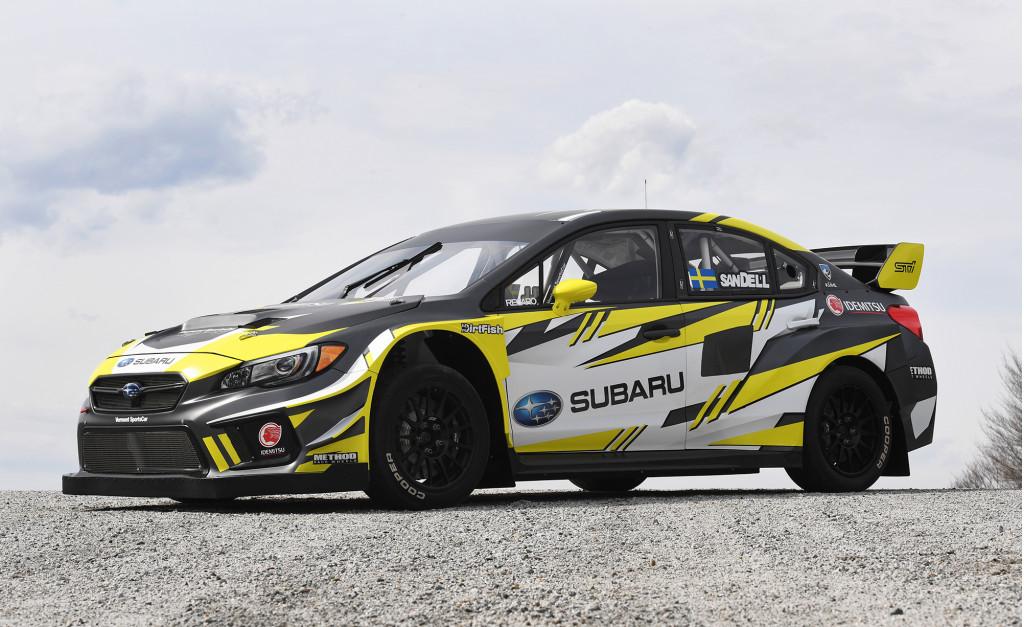 Subaru to enter newly formed Americas Rallycross Championship