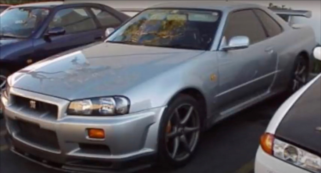 Paul Walker's 1999 Nissan Skyline GT-R R34 V-Spec