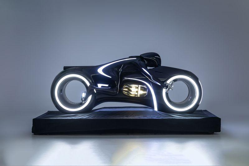 Petersen Automotive Museum sci-fi car exhibit