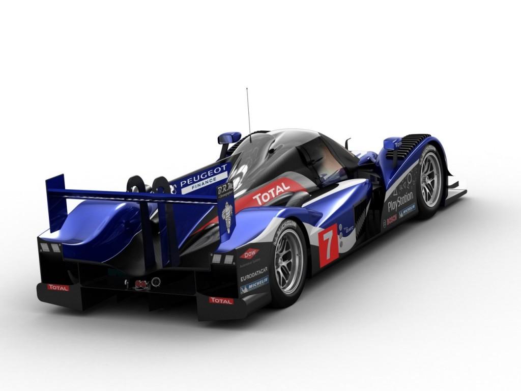 Image Peugeot Hdi Fap Le Mans Race Car Size X