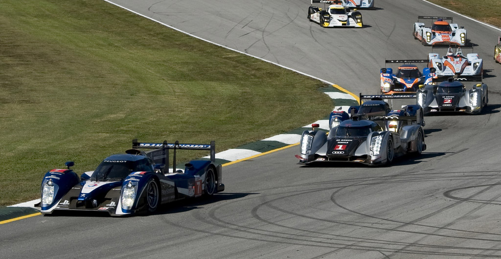 One-Two Finish For Peugeot At Petit Le Mans